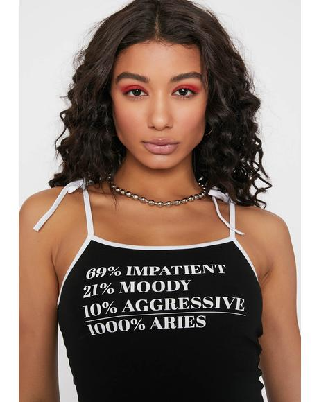 Aries Secret Sauce Crop Cami