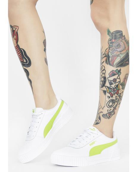 Green Carina Classic Sneakers