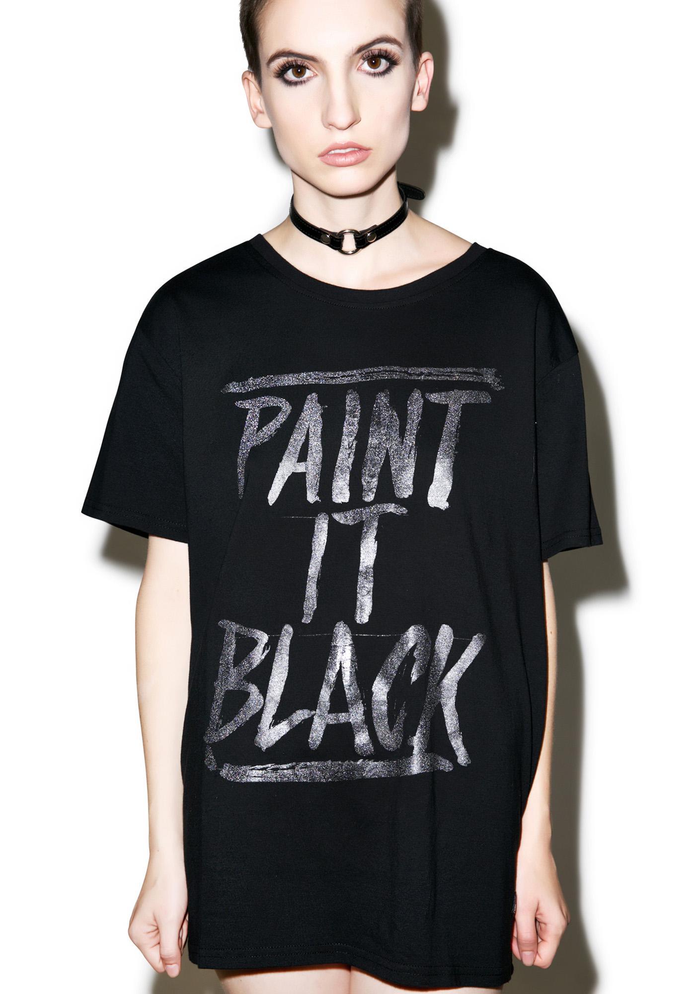 Iron Fist Paint It Black Tee