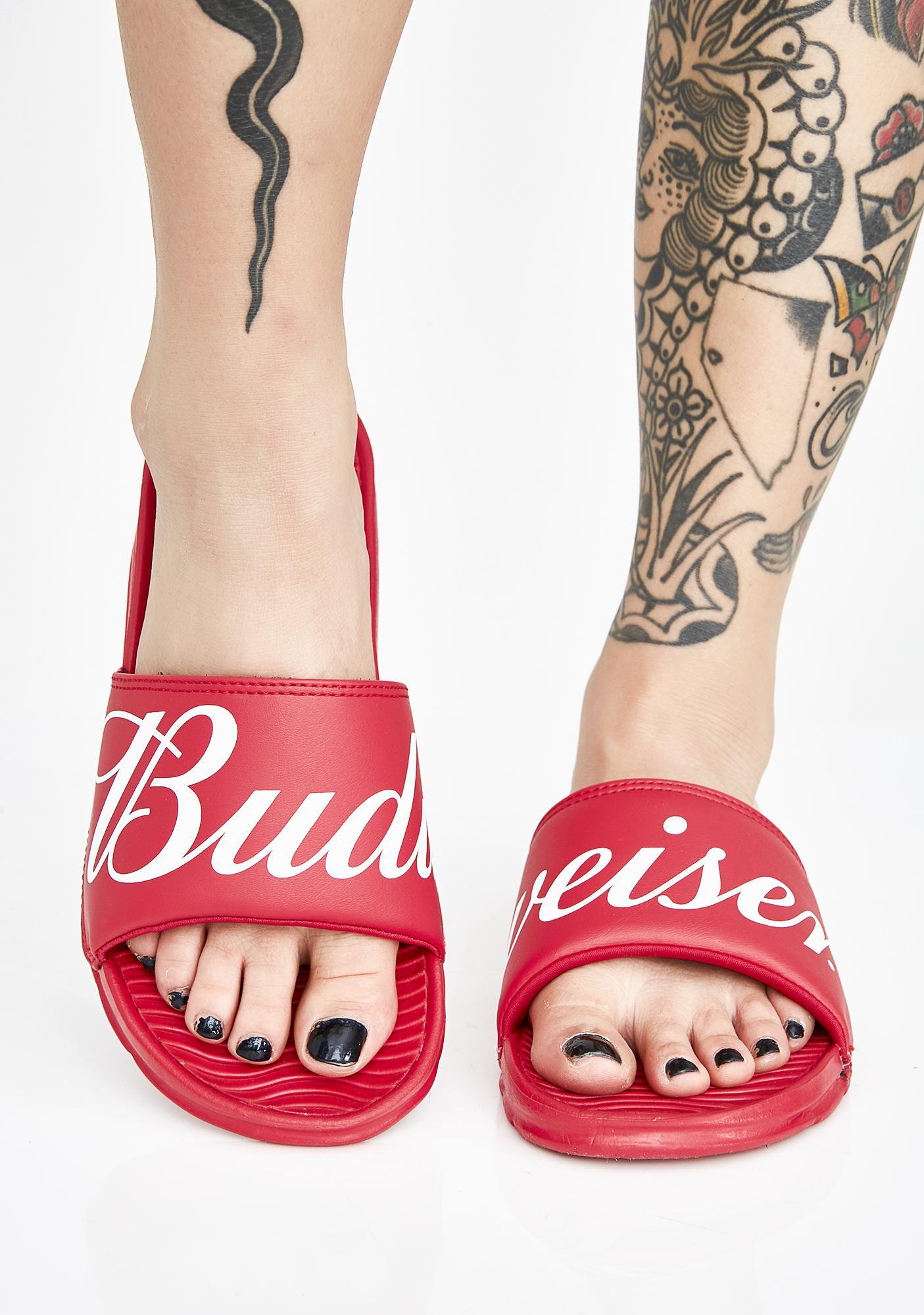 5a717141a54 HUF x Budweiser Slides