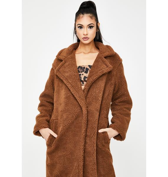 BB Dakota Paddington Teddy Coat