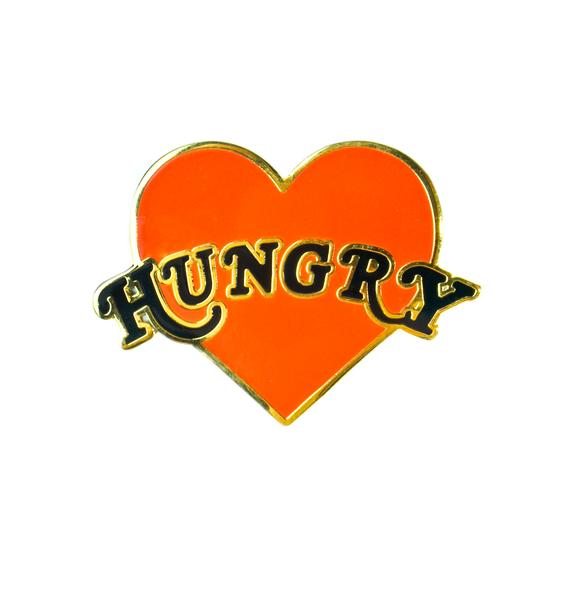 Yvng Pearl Hungry Heart Pin
