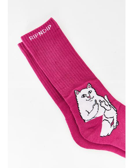 Litty Lord Nermal Socks