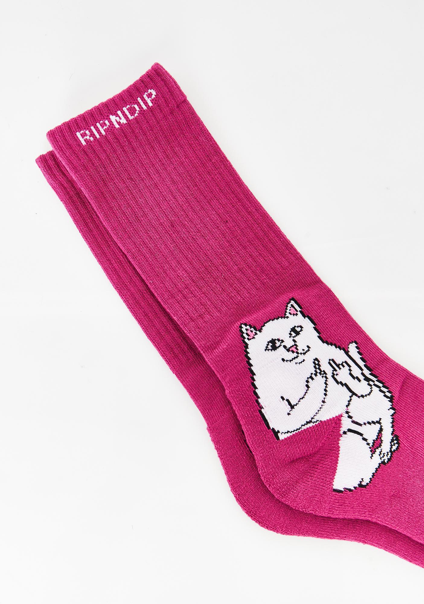 RIPNDIP Litty Lord Nermal Socks