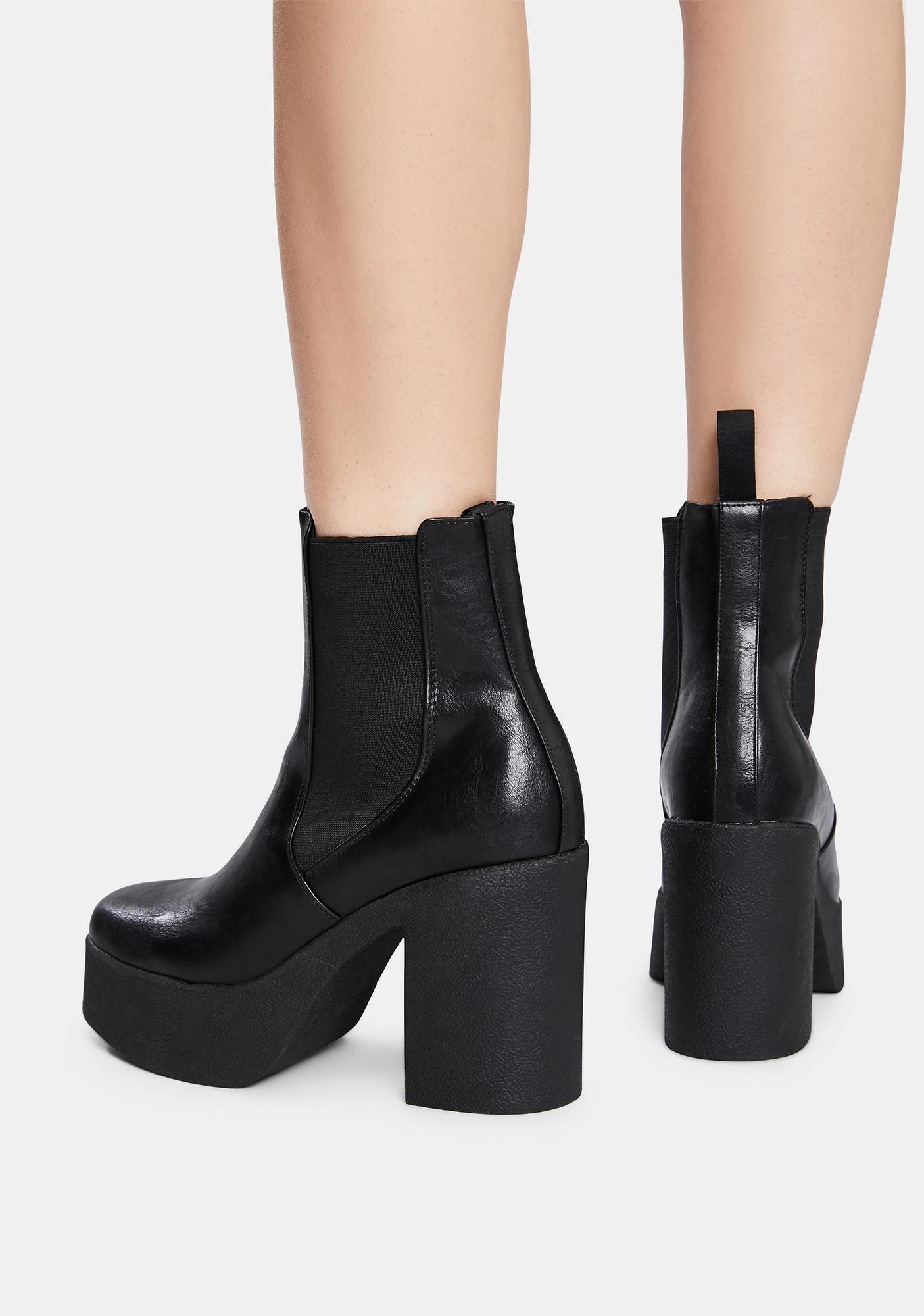 Lamoda Pick N Mix Platform Ankle Boots