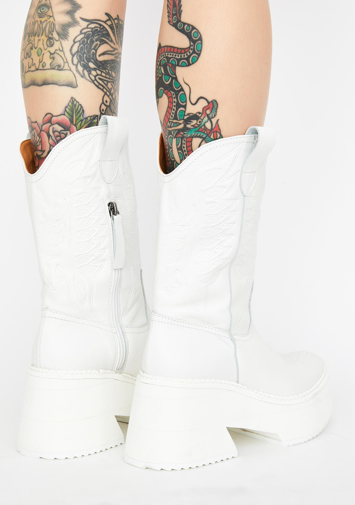 Current Mood Renegade Trails Leather Cowboy Boots