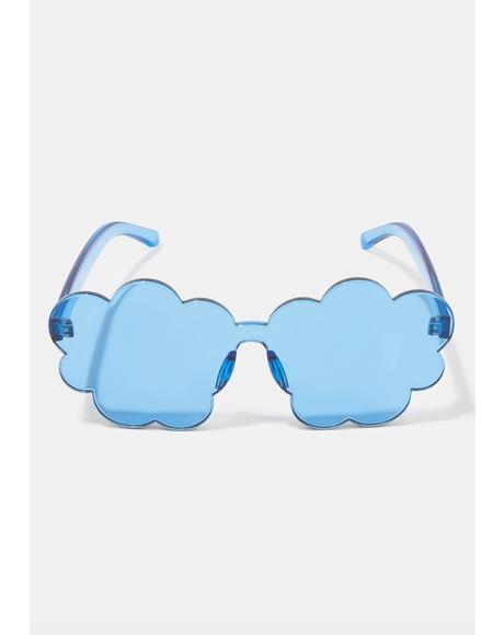 Cloud Nine Clear Sunglasses