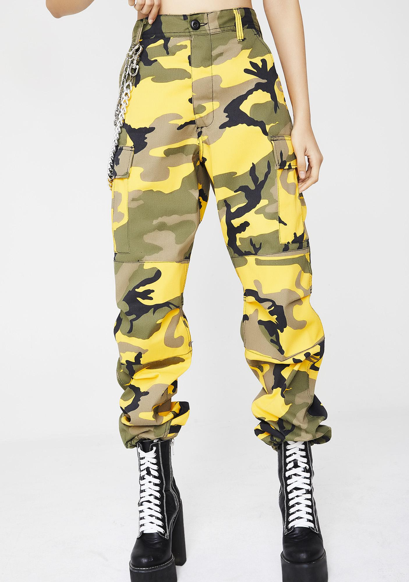 Down With It Camo Pants