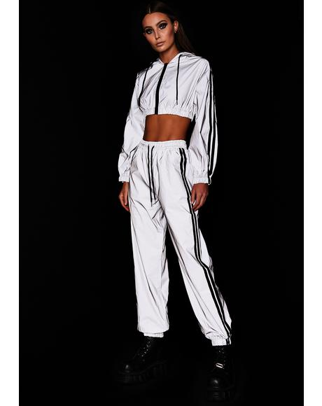 Platinum Undeniable Energy Reflective Pant Set
