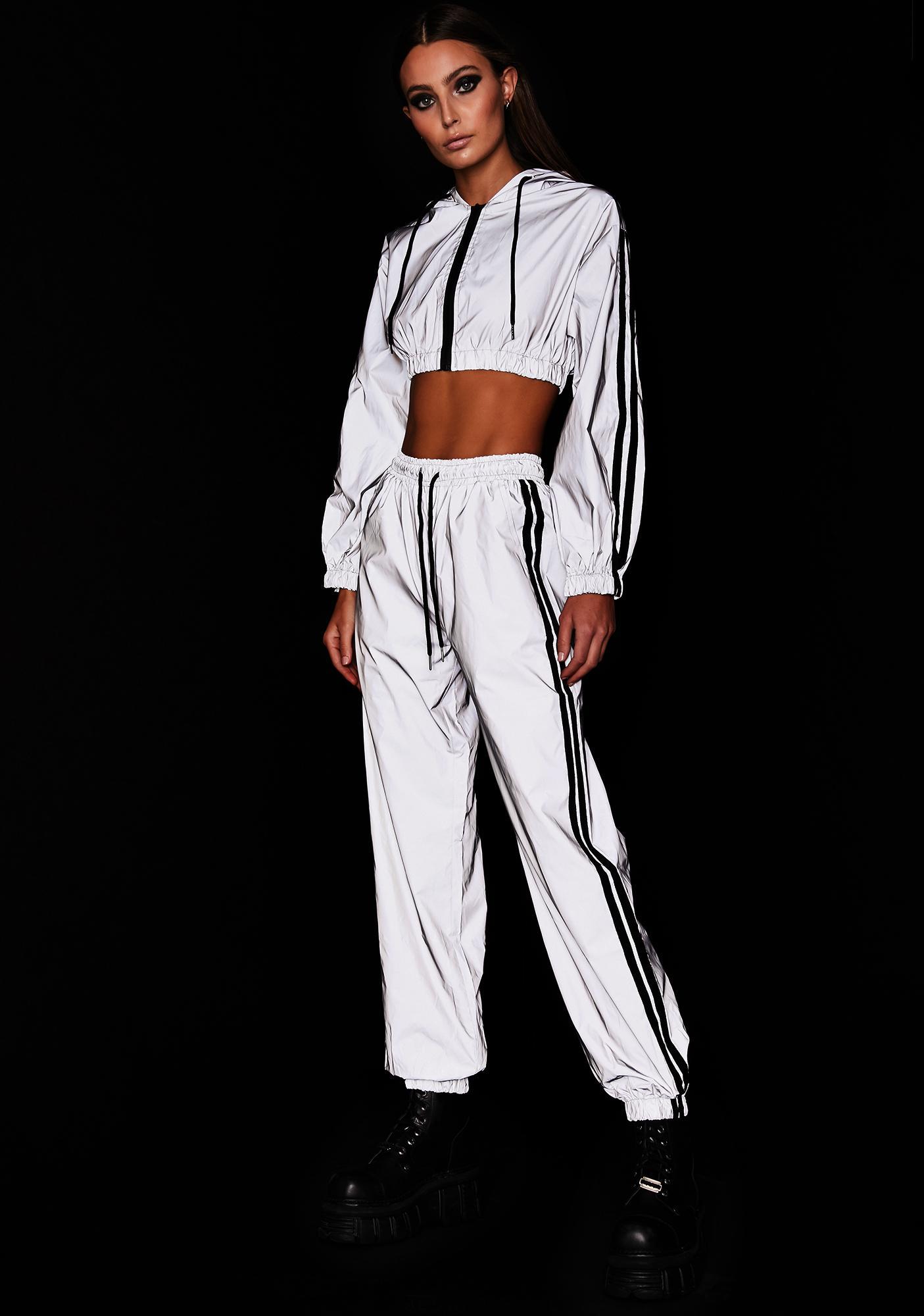 Platinum Undeniable Energy Reflective Pant Set