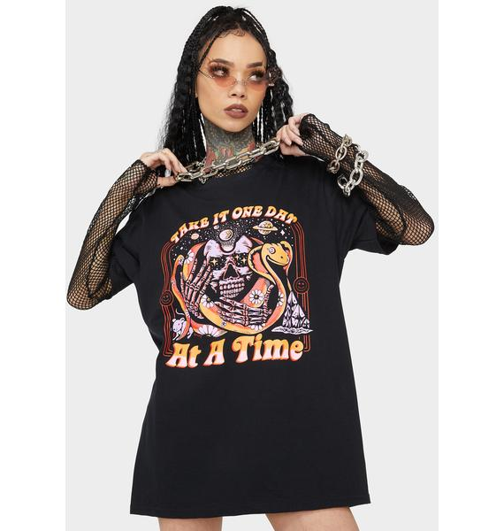 Boss Dog Take It One Day Graphic Tee