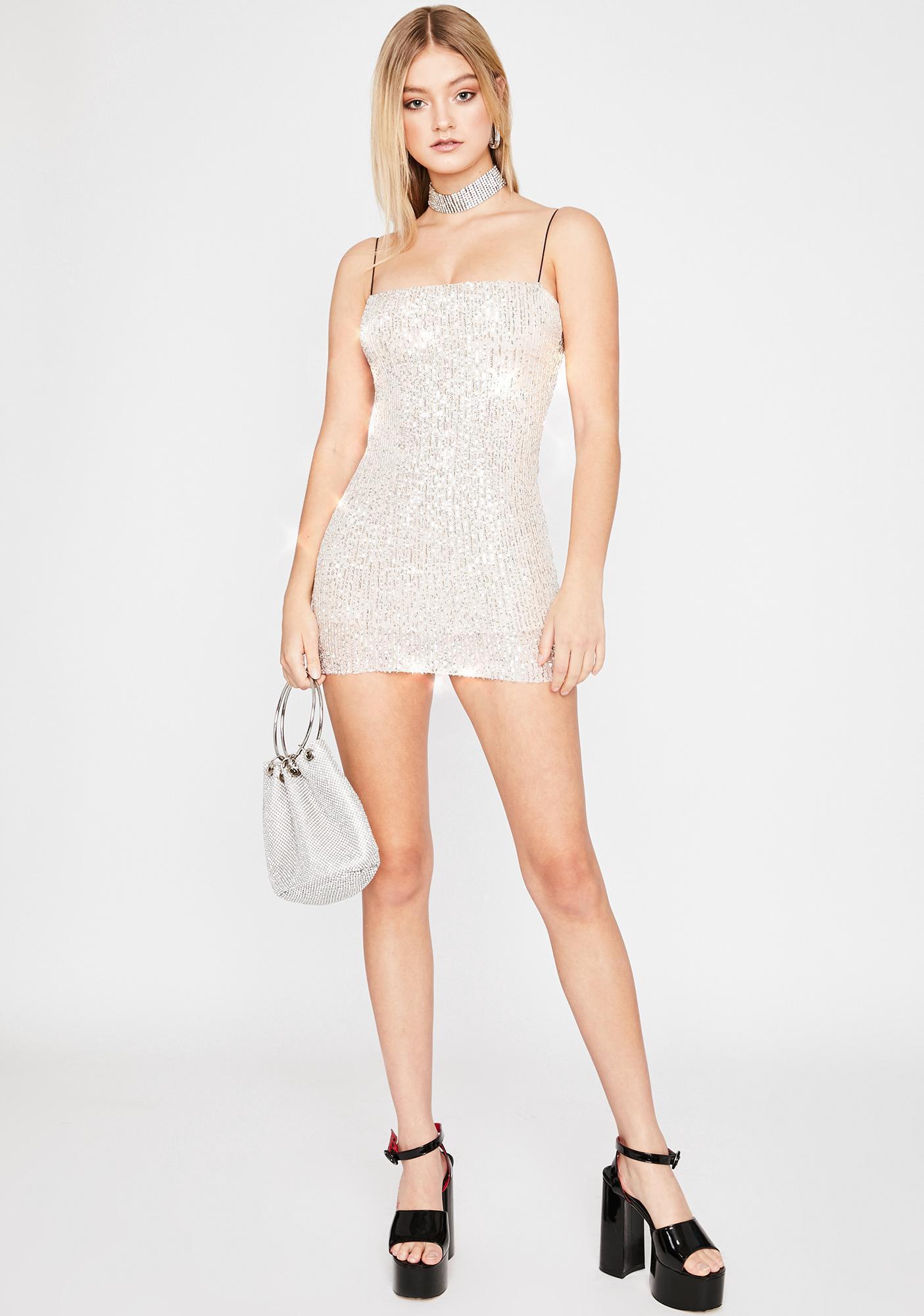 Glitz N' Glam Mini Dress