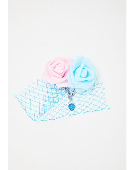 Blue Pastel Dreams Headpiece
