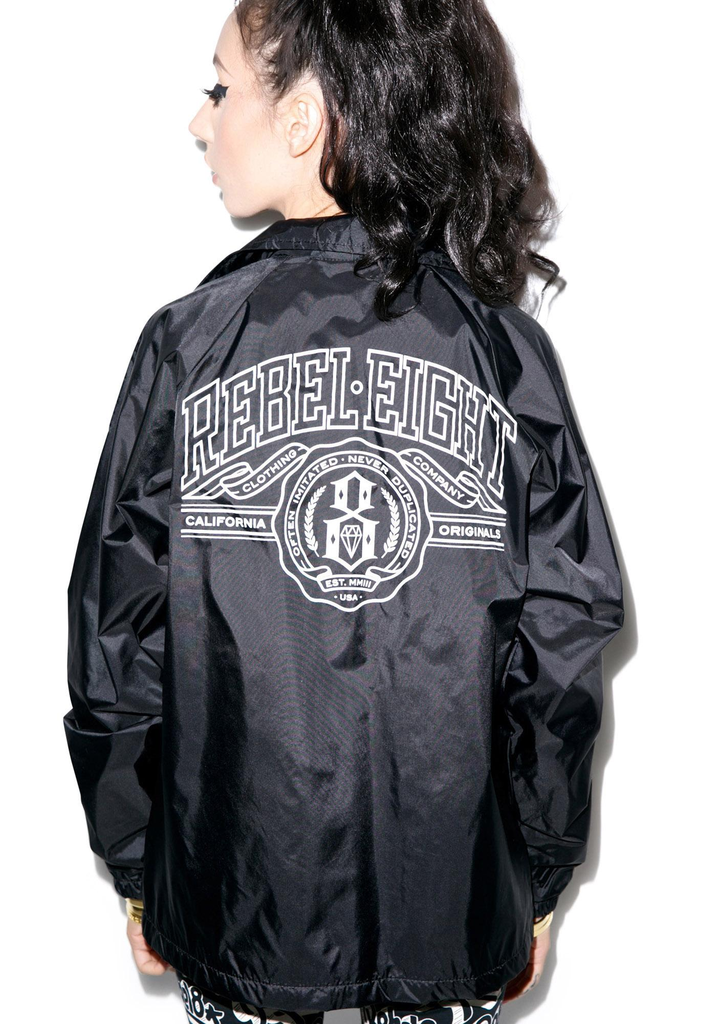 Rebel8 U of 8 Coaches Jacket