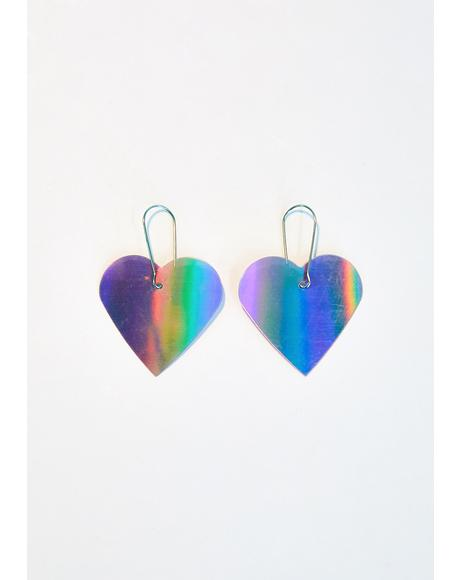 That Kinda Love Rainbow Earrings