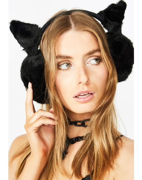 Bass Kitten Earmuffs