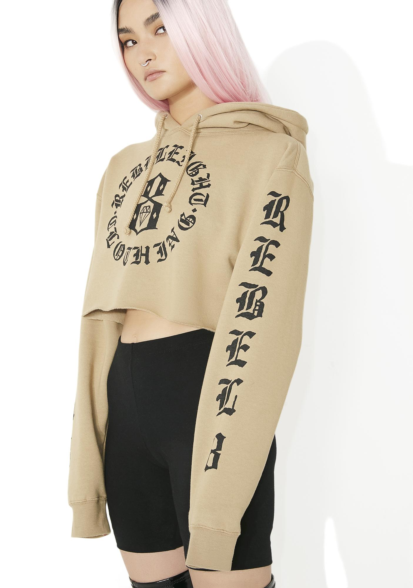Rebel8 IMMORTALS CROP HOODIE