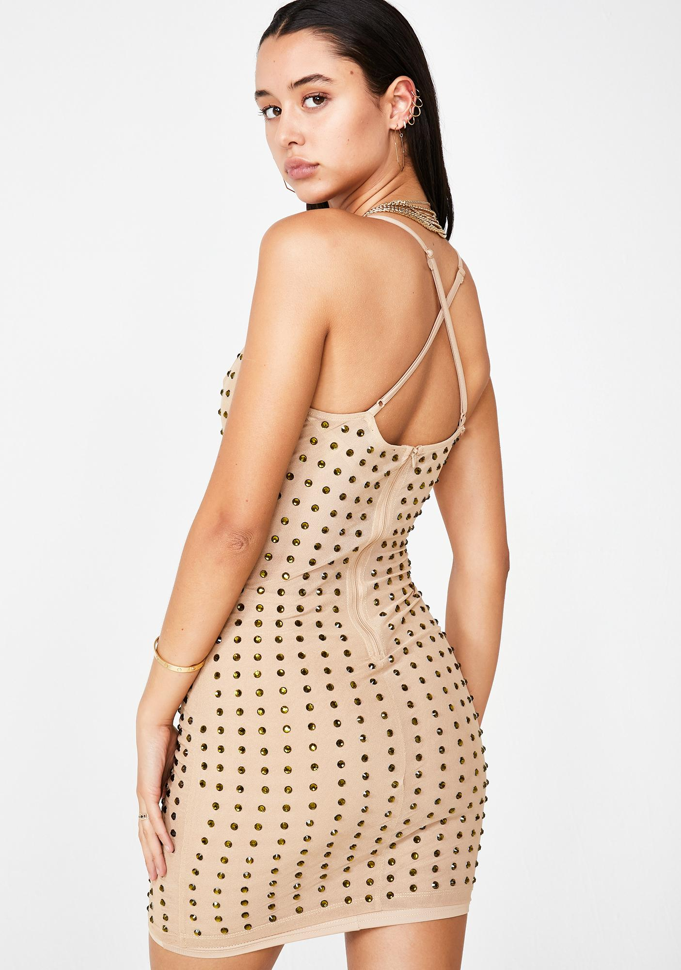 Chic Complex Mini Dress