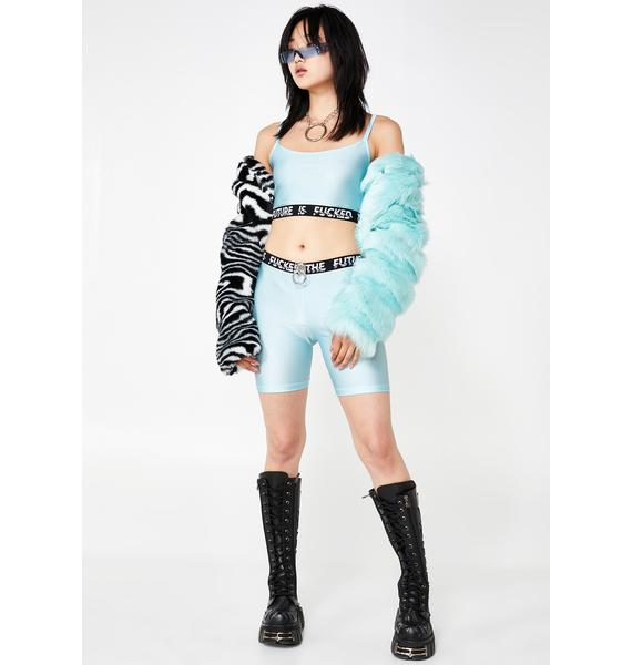Ivy Berlin Iced Glitch Bike Shorts