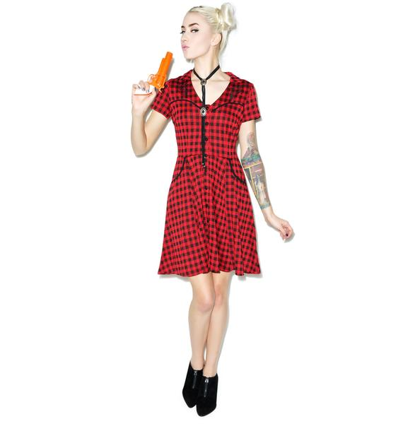 Sourpuss Clothing Gunslinger Western Dress