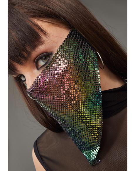 Keeping Secrets Chainmail Face Mask