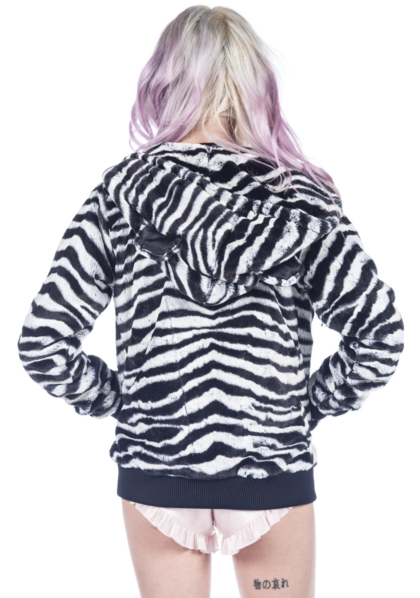 Joyrich Zebra Animal Hoodie