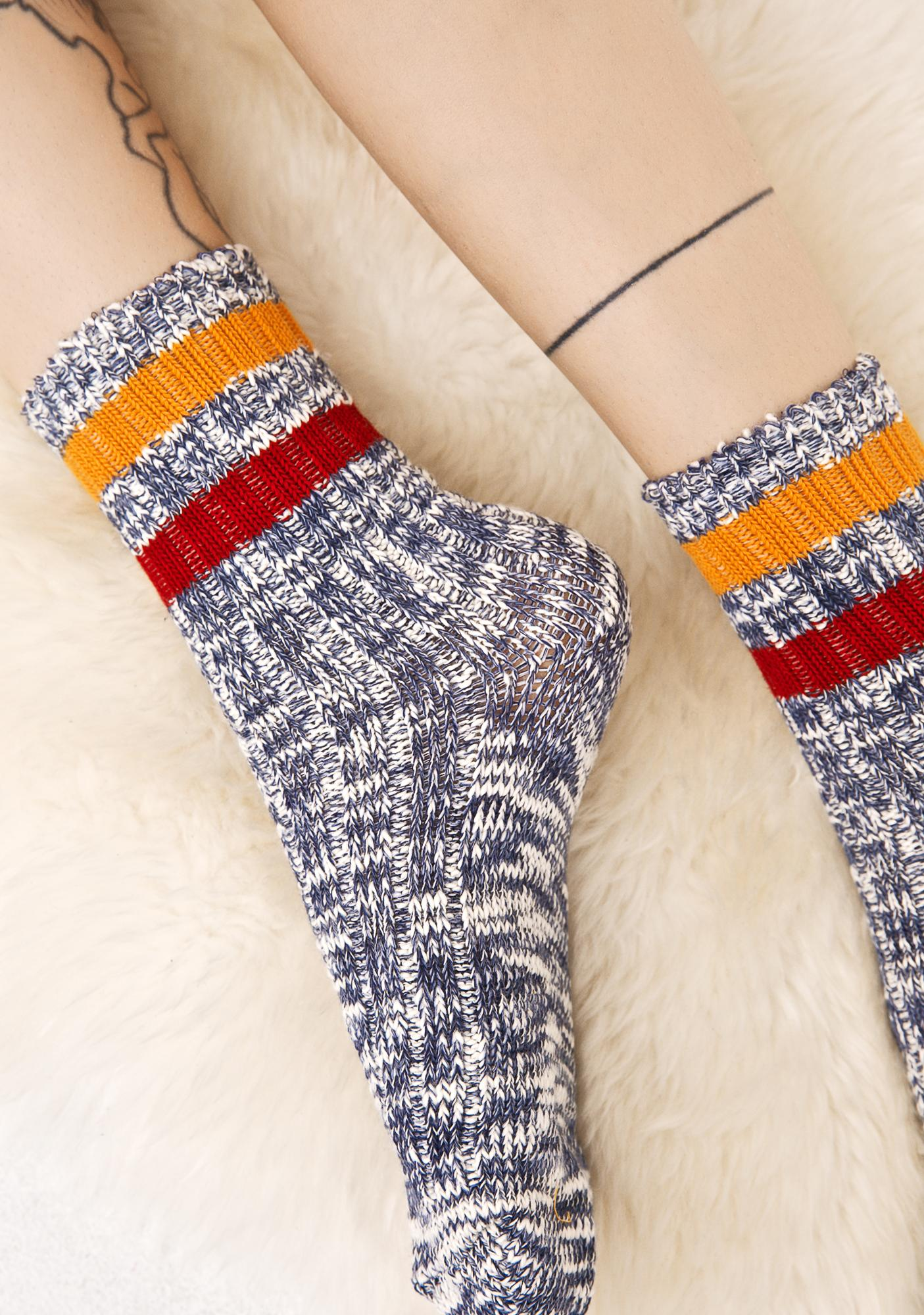 Go For Gold Crew Socks