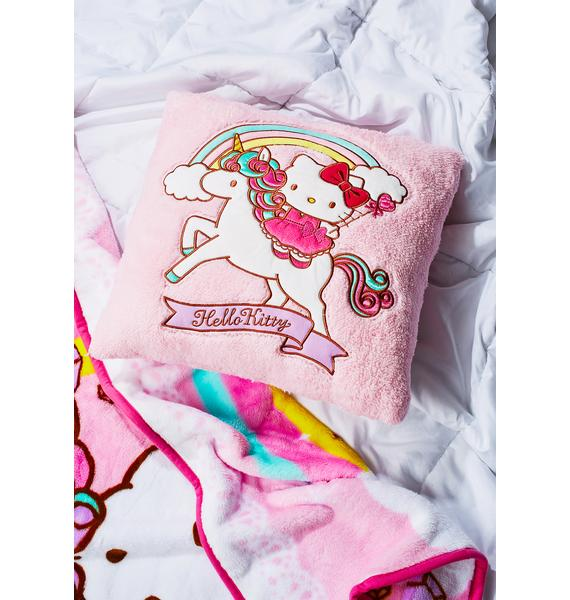 Sanrio Unicorn Kitty Cushion