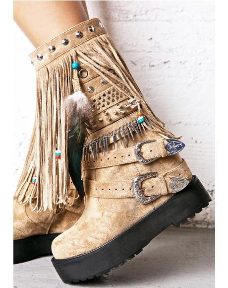 Sedona Wedge Boots