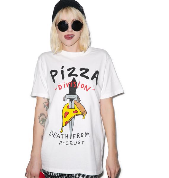 Lazy Oaf Pizza Death Tee