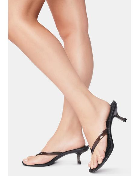 Dark Always You Clear Heels