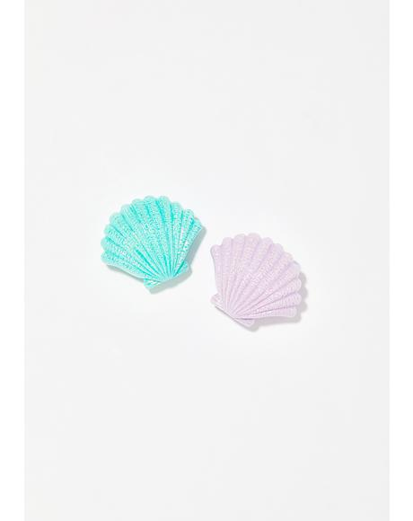 Mermazing Seashell Lip Balm Duo