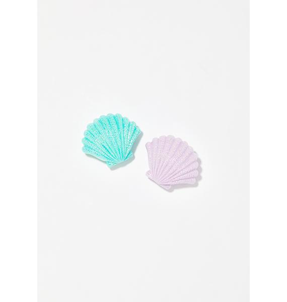Mermazing Seashell Lip Balm Duo