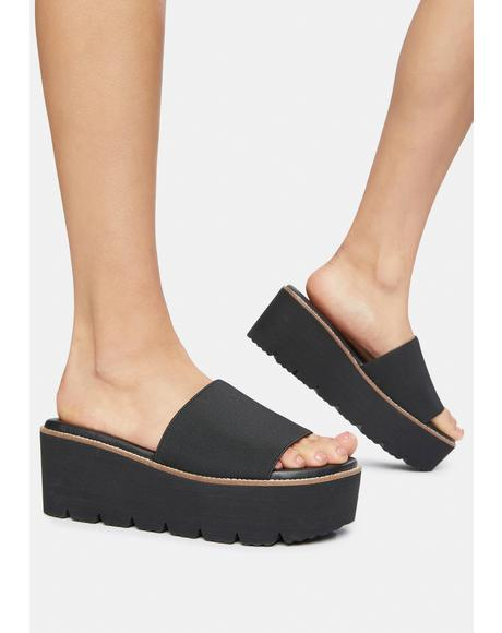 Pivot Platform Slide Sandals