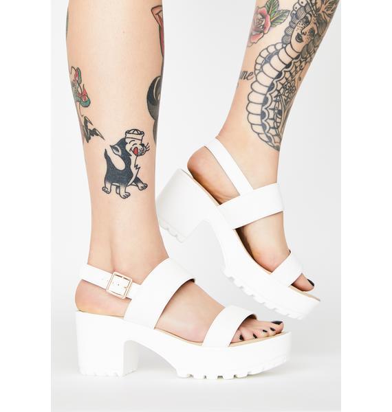 Koi Footwear Cleated Platform Sandals