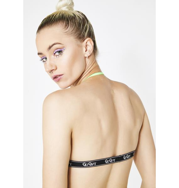 GoGuy Ombre Check Bralet