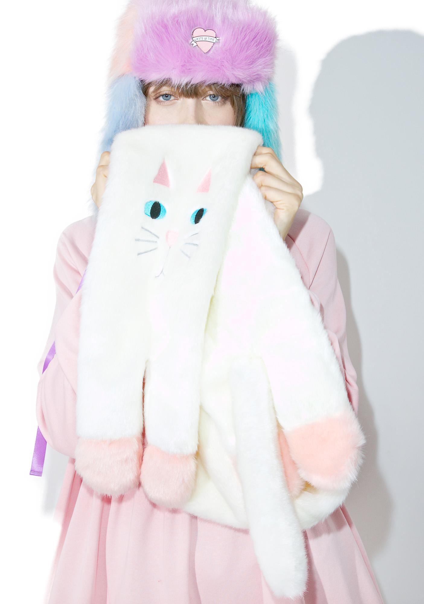 Lazy Oaf Kitty Scarf