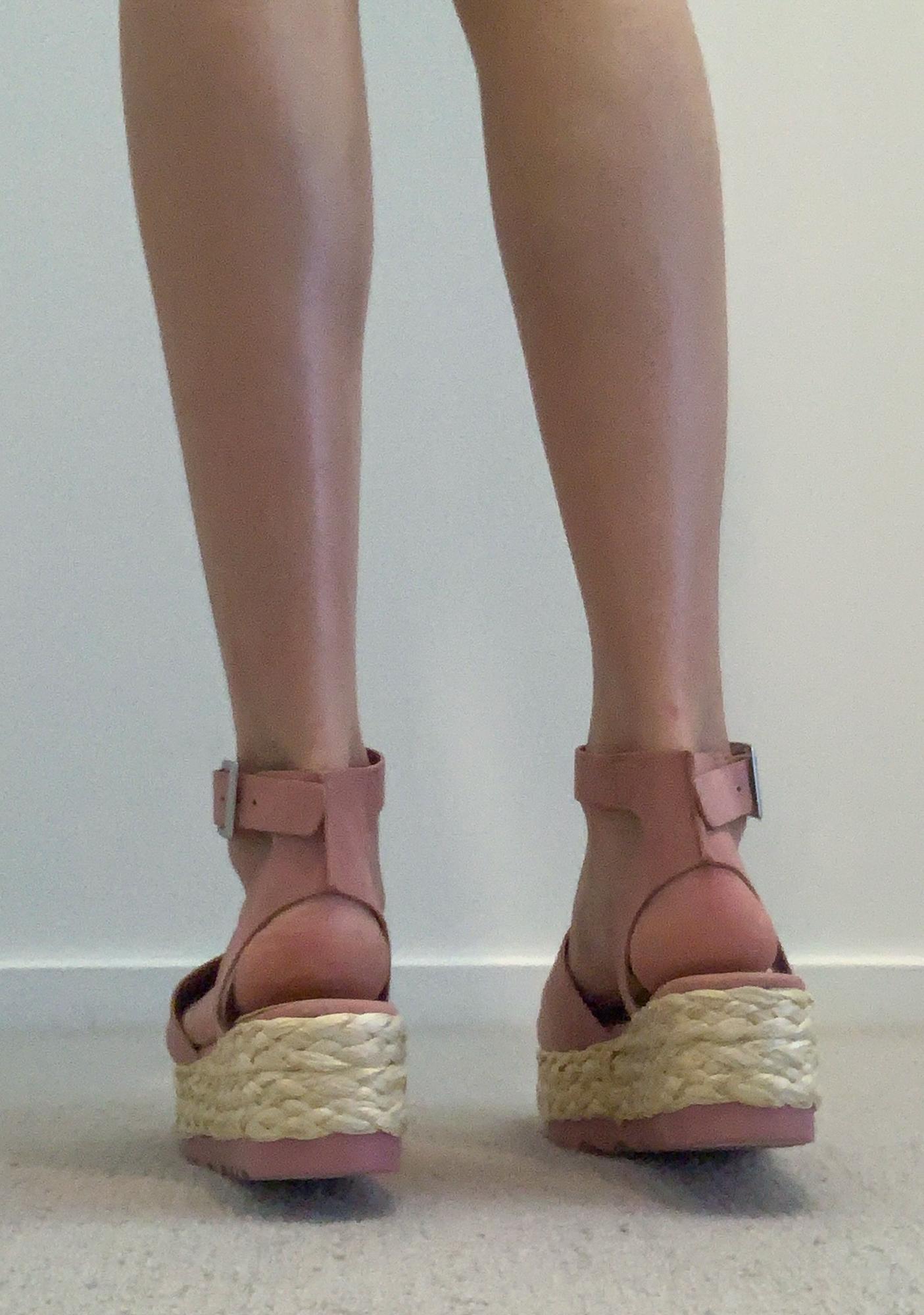 Blush Never Enough Espadrille Sandals