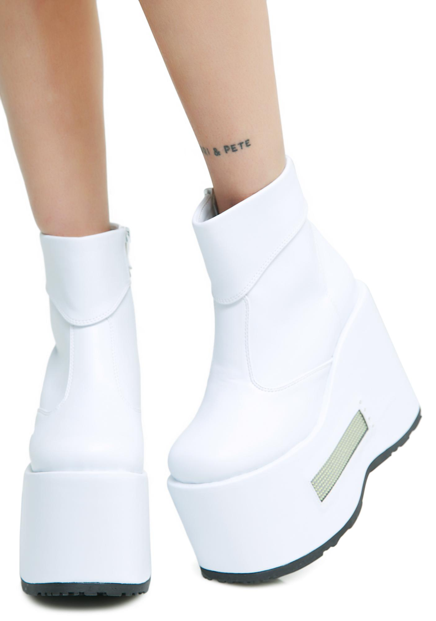 Icy Just Sayin' LED Platforms amazon sale online cheap countdown package WMd0IzO6j
