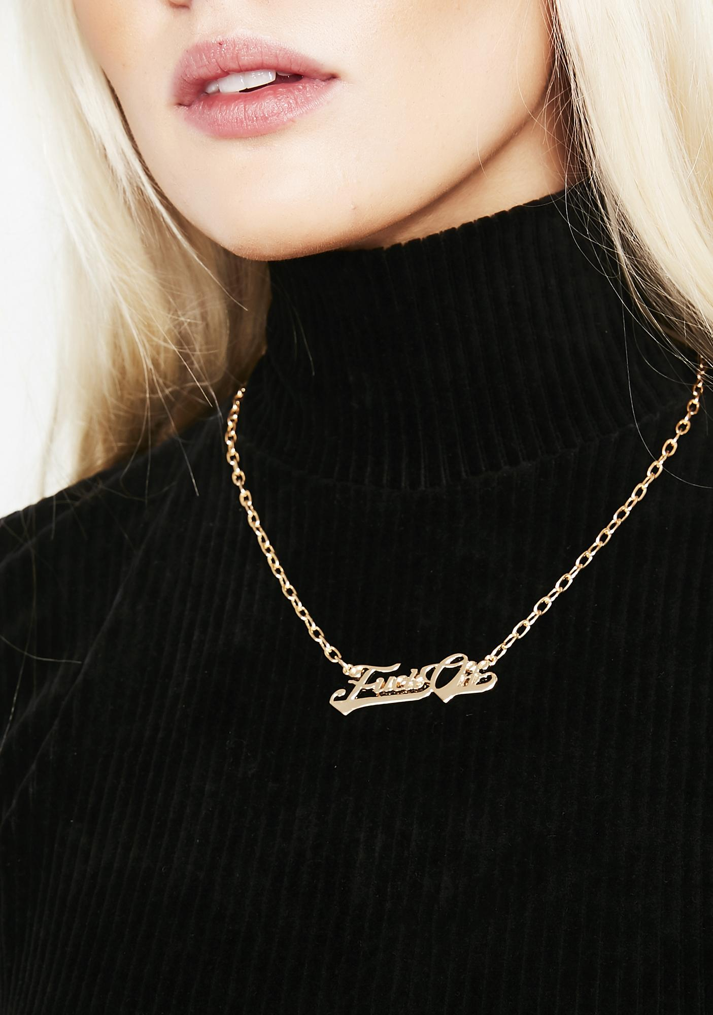 First Name Karma Pendant Necklace