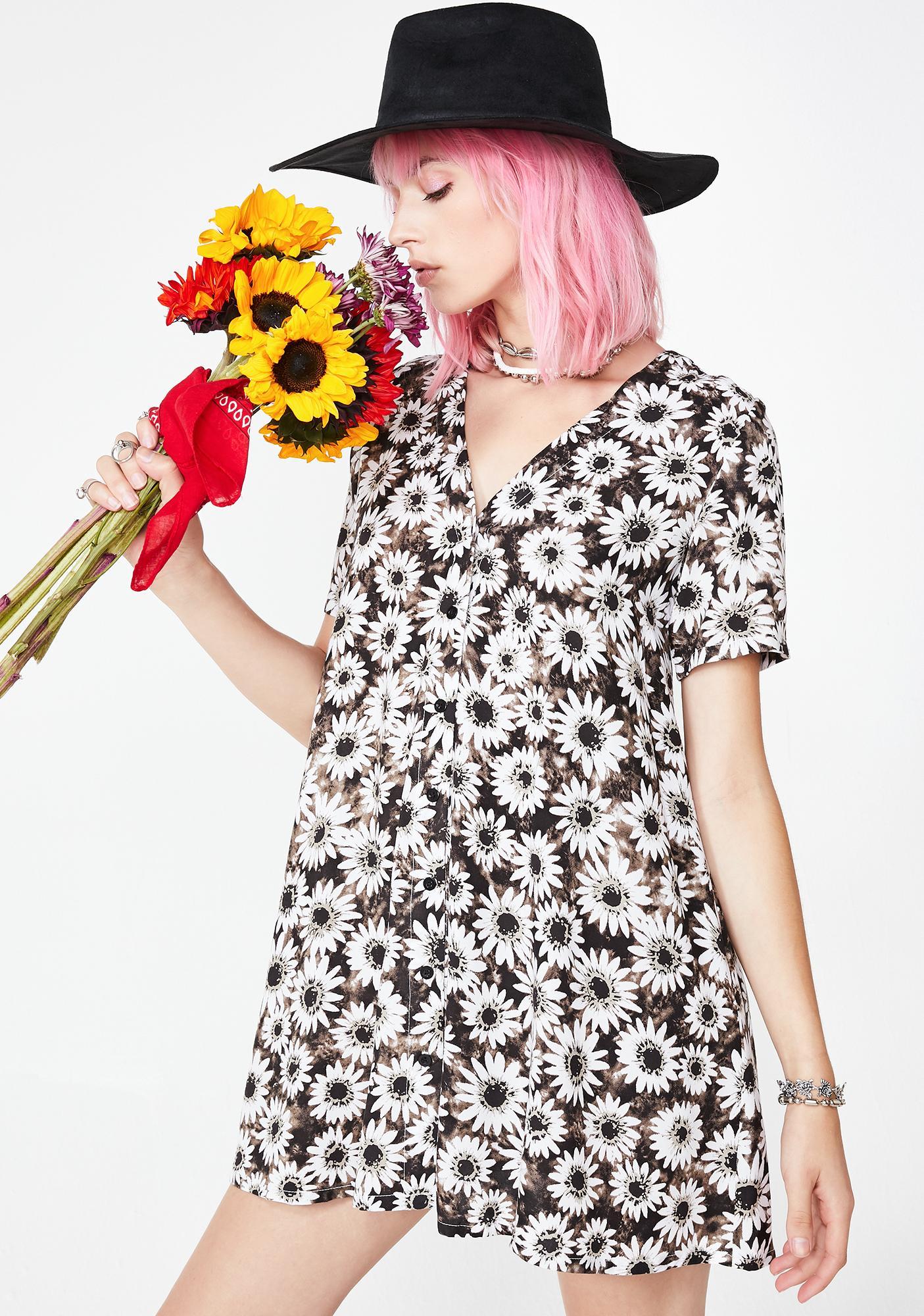 Motel Dyed Daisy Crosena Dress