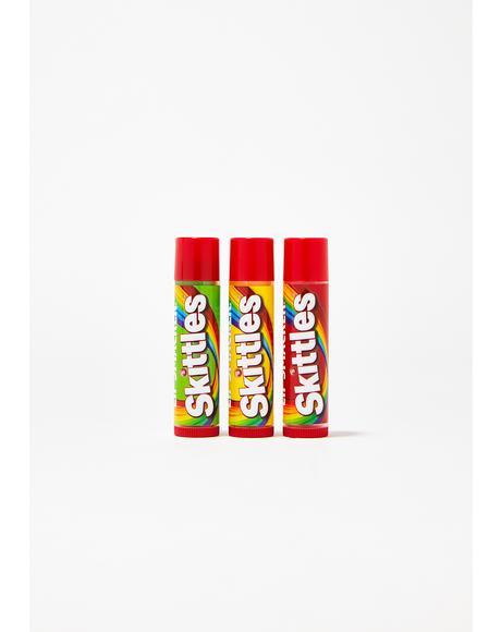 Skittles Lip Balm Trio