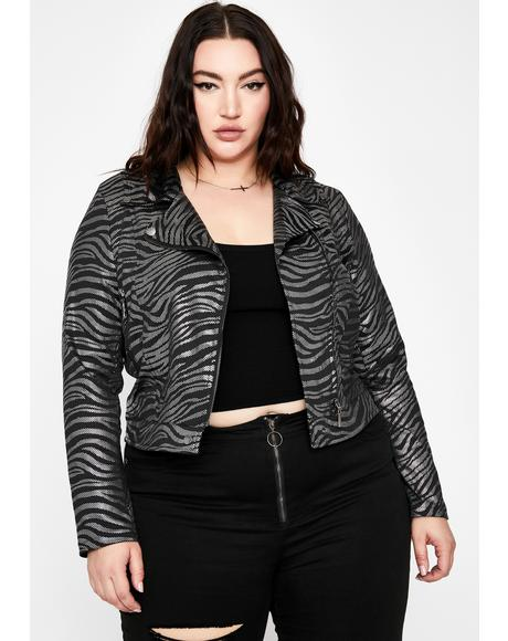 True Luxe Rider Moto Jacket