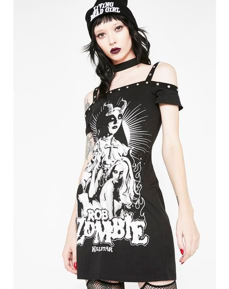 Lust For Death Bodycon Dress