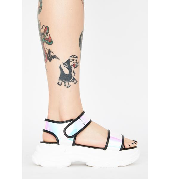Late Per Usual Platform Sandals