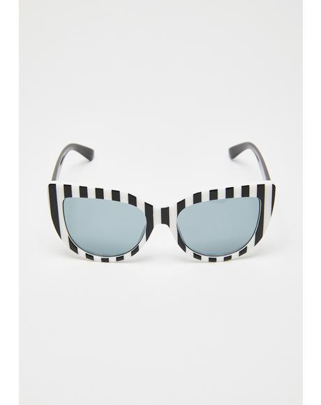 Diva Delinquent Cat-Eye Sunglasses