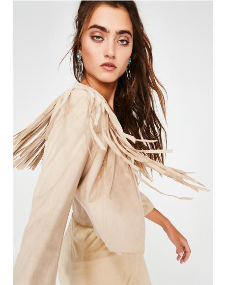 Desert Fox Fringe Jacket