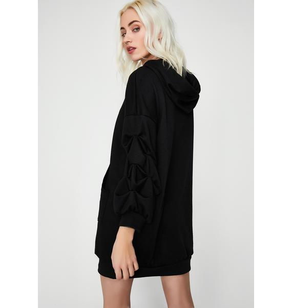 BB From The Block Hoodie Dress