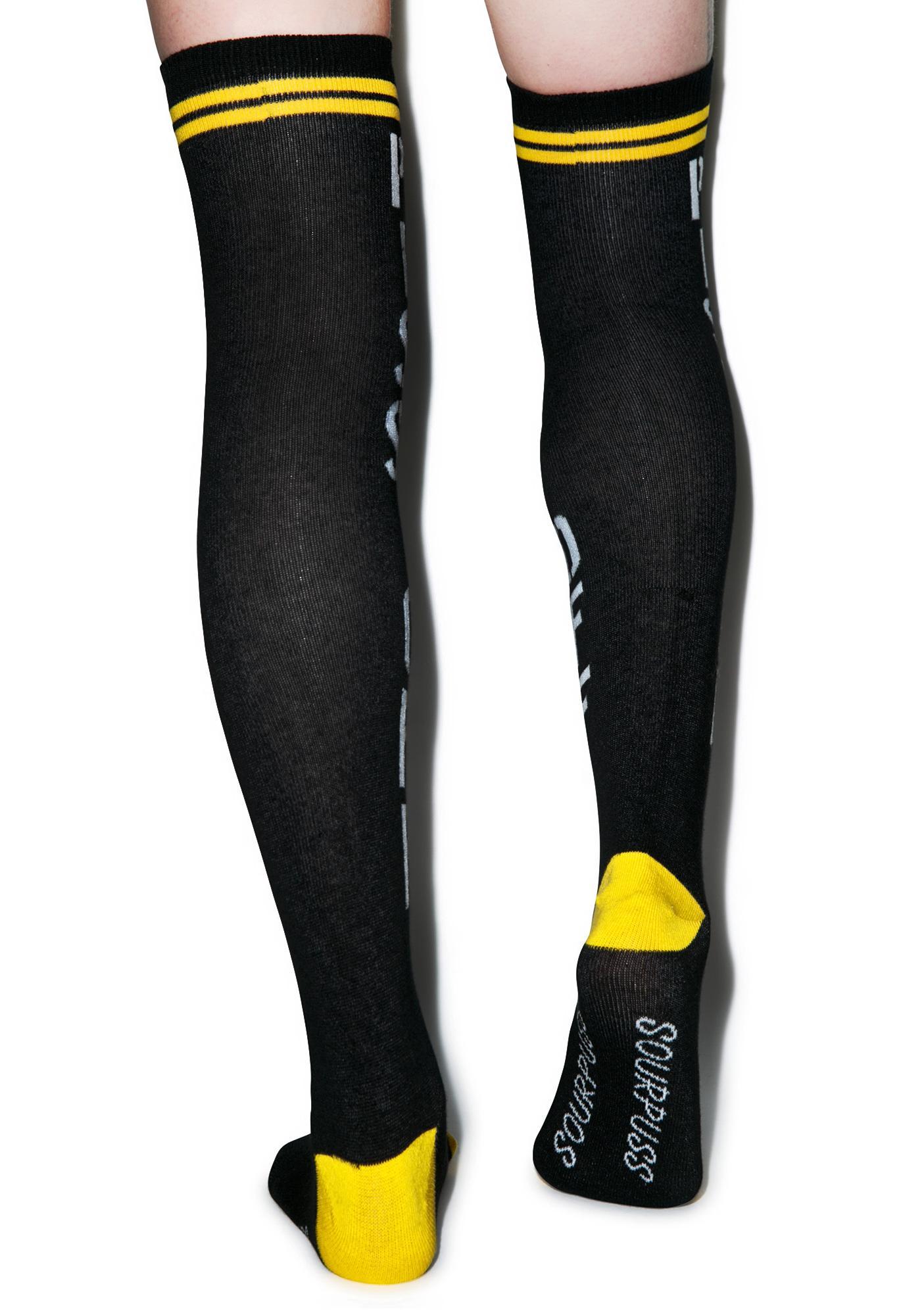 Sourpuss Clothing Piss Off Socks