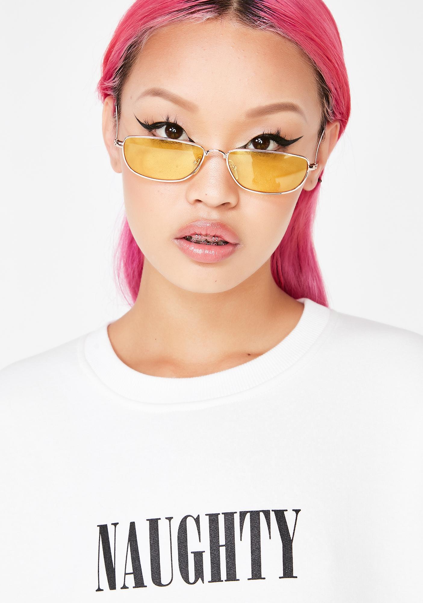 Sly Eyes Rectangle Sunglasses
